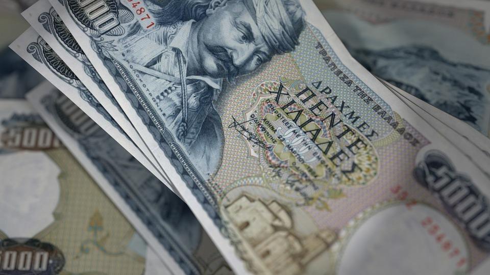 řecké peníze